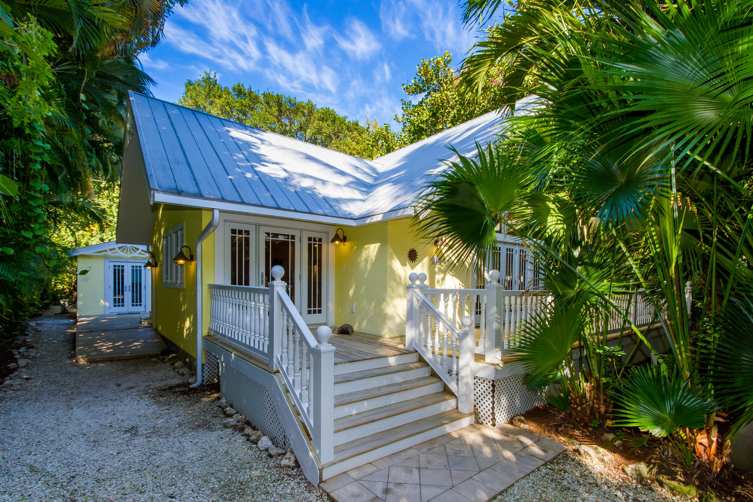 View of Exterior Home 11530 Laika Lane in Captiva Florida